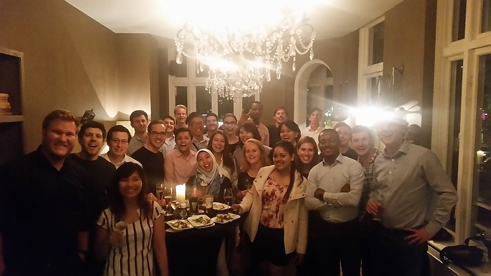 A part of the global Upstream Commercial Graduate community! We know how to have fun in this social event, while learning in the three days conference.